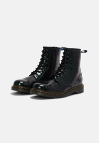 Dr. Martens - 1460 Y - Lace-up ankle boots - green cosmic glitter - 1