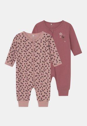 NBFNIGHTSUIT ZIP 2 PACK - Pyjamas - deco rose