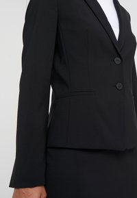 HUGO - THE SHORT JACKET - Blazere - black - 5