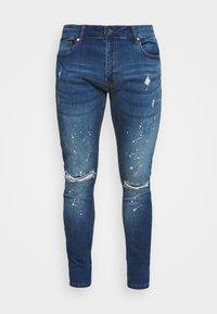 CLOSURE London - SPLATTER - Jeans Skinny Fit - blue - 3