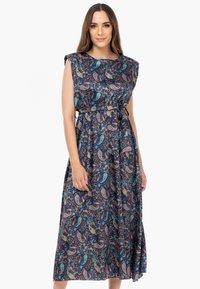 Tantra - Maxi dress - azul marino - 0