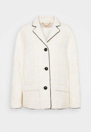 PLAID JACKET - Summer jacket - new ivory