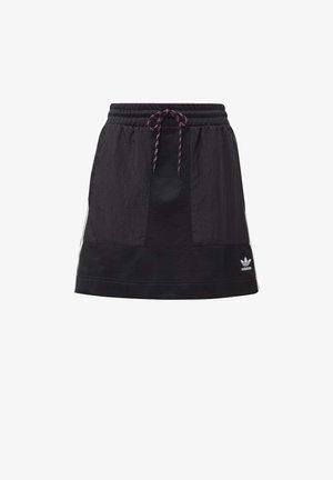SKIRT - A-line skjørt - black