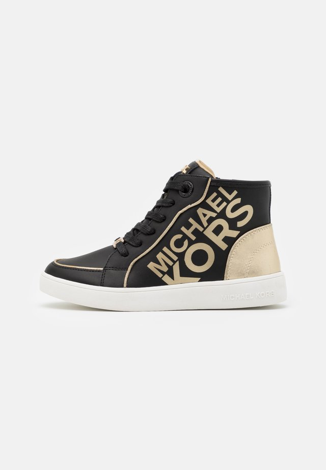 ZIA JEM HALEY - Sneakers hoog - black/soft gold