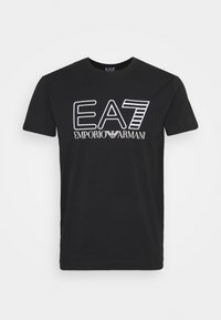 EA7 Emporio Armani - T-shirts print - black/white - 5