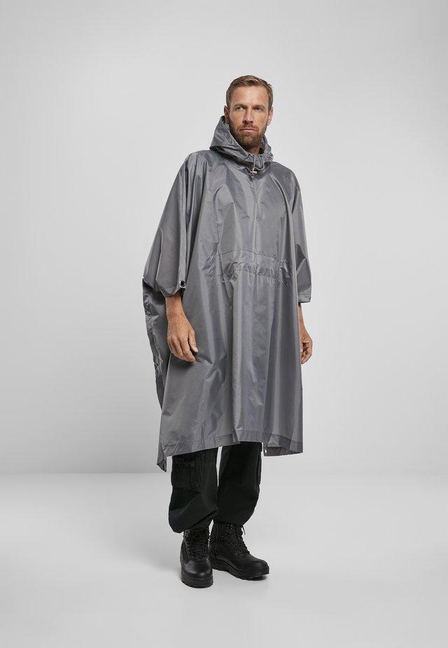 Regenjas - anthracite