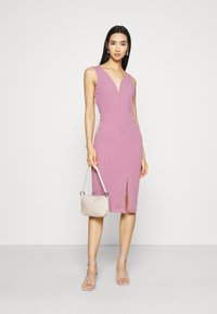 WAL G. - KADINE MIDI DRESS - Cocktail dress / Party dress - mauve pink - 1