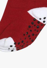 Jordan - CEMENT GRIP 3 PACK UNISEX - Sports socks - white - 6