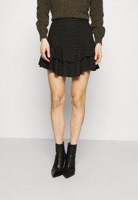 Guess - TATIANA SKIRT - A-line skirt - jet black - 0
