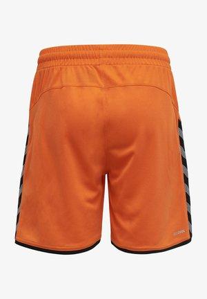 HMLAUTHENTIC  - Sports shorts - tangerine