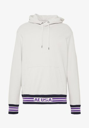 GRAPHIC POPOVER TIPPING - Hoodie - white