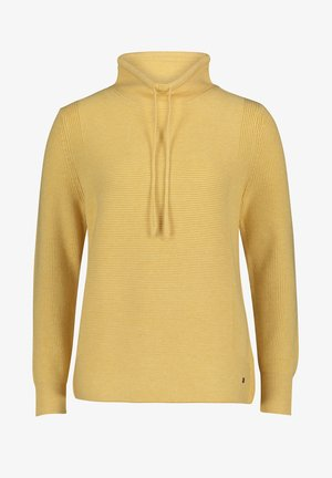 Jumper - middle yellow melange