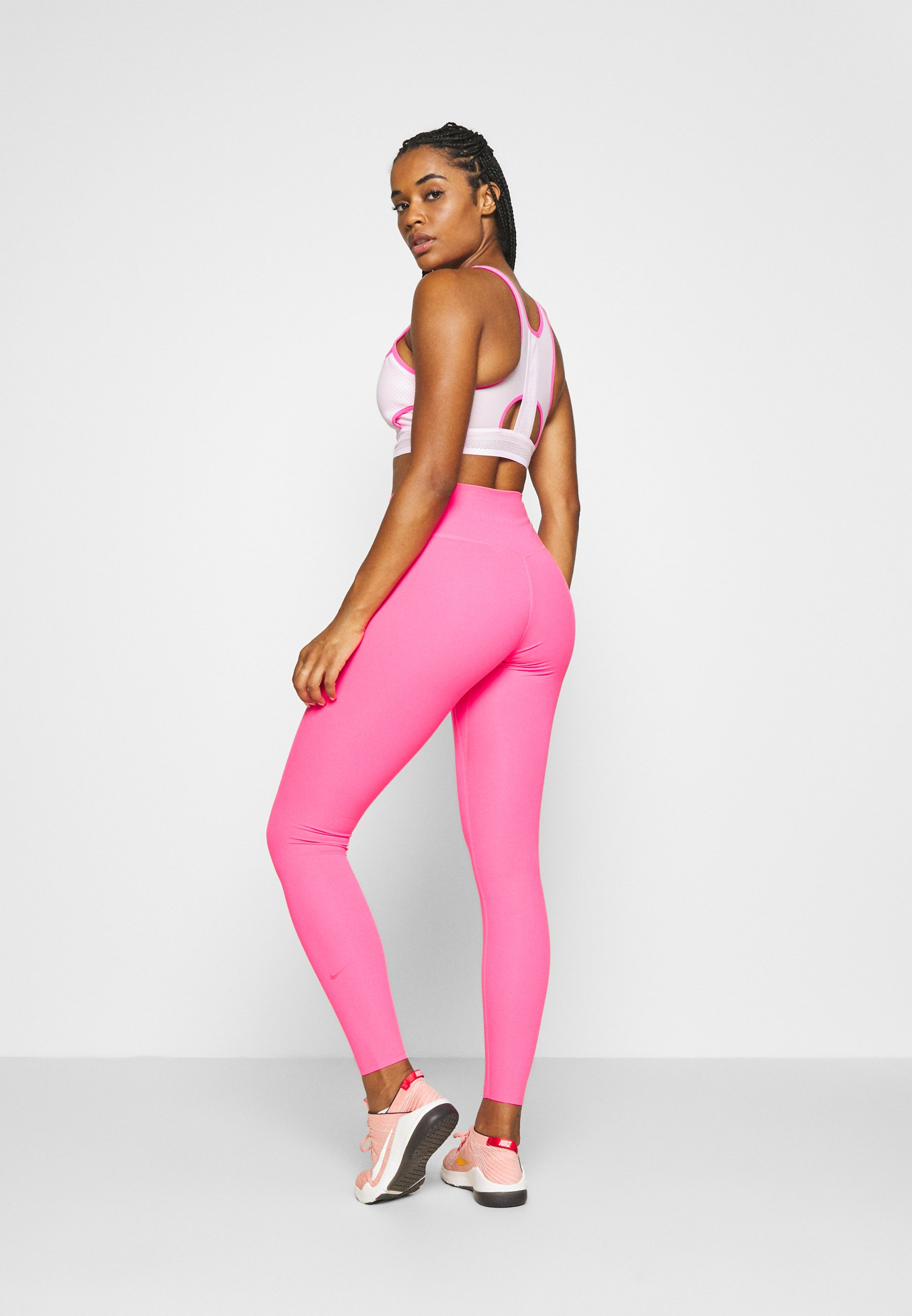 Nike Performance ONE LUXE - Leggings - hyper pink EJc58