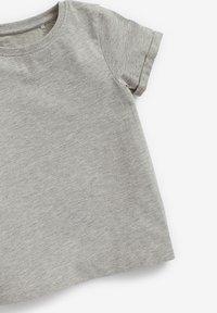 Next - 3 PACK - Basic T-shirt - white/burnt orange denim/grey - 5