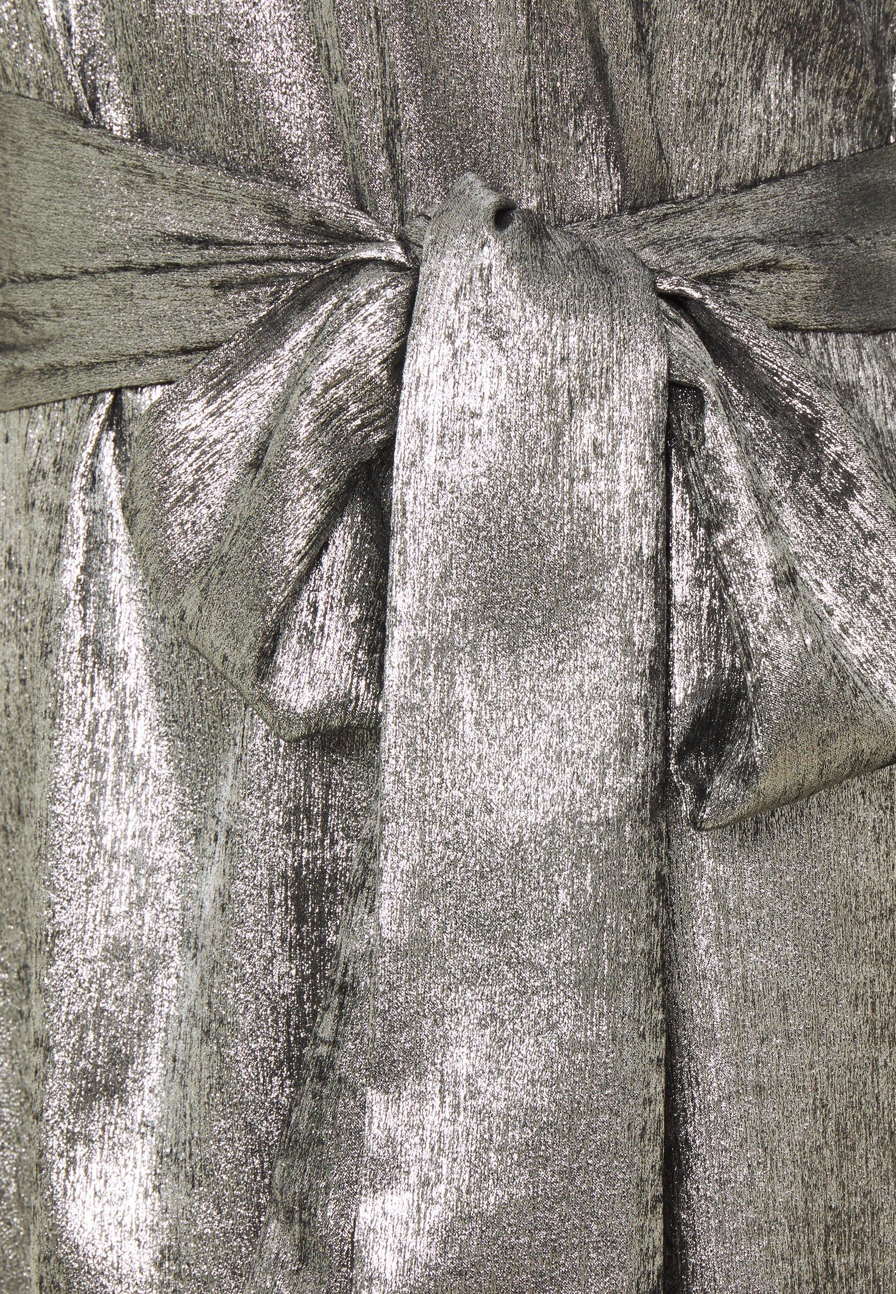 Twist & Tango EDIE DRESS Cocktailkleid/festliches Kleid silver metallic/silber