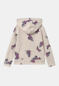 GAP - GIRLS LOGO - Mikina na zip - mottled beige - 1