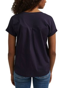 edc by Esprit - Print T-shirt - navy - 7
