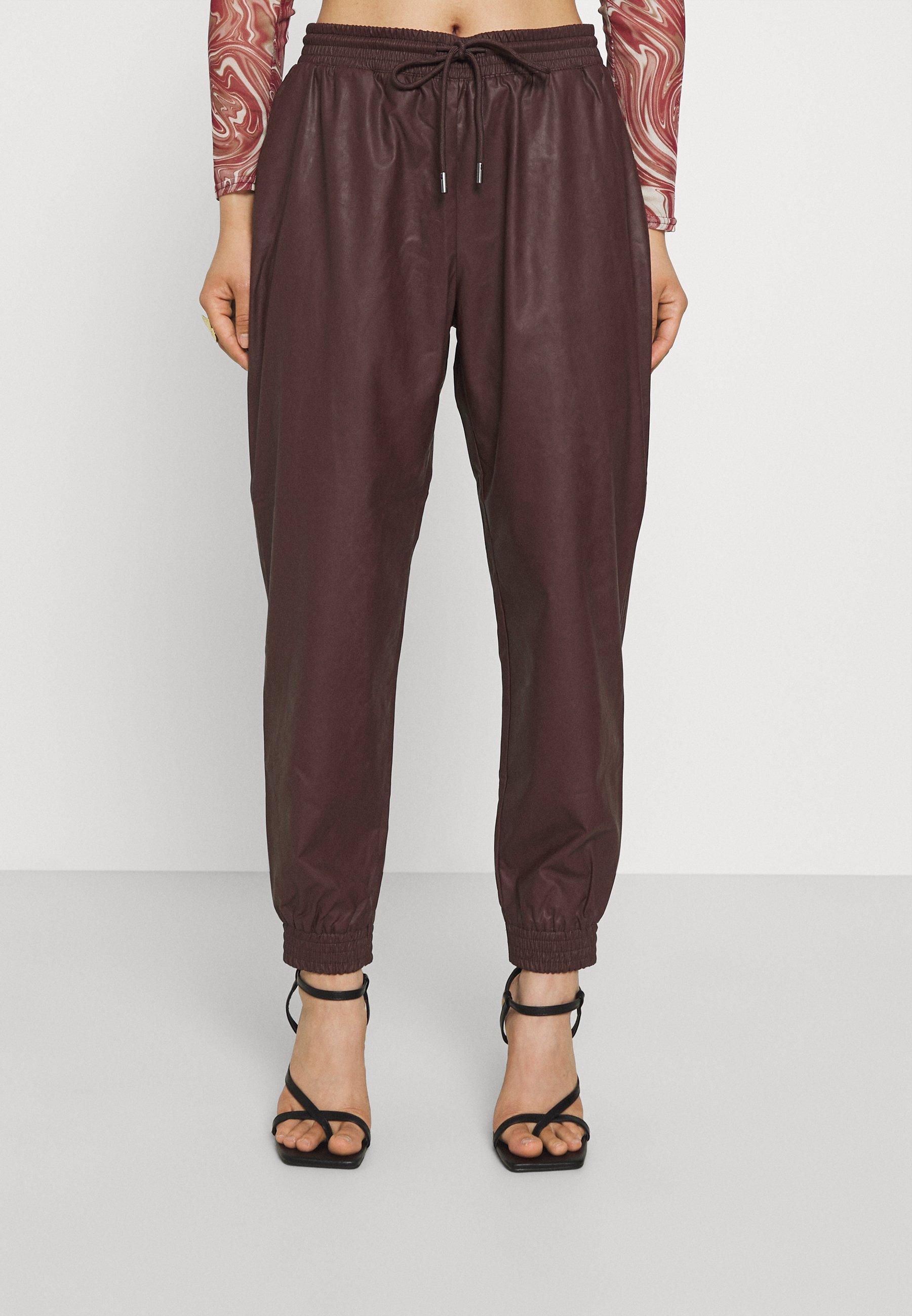 Women ONLMADY MWFAUX PANT - Trousers