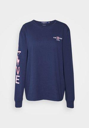 LONG SLEEVE - Bluzka z długim rękawem - spring navy