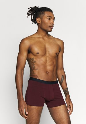 5 PACK - Boxerky - dark blue/bordeaux