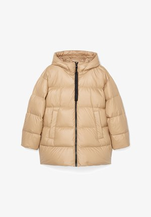 PUFFER JACKET - Down jacket - soaked sand