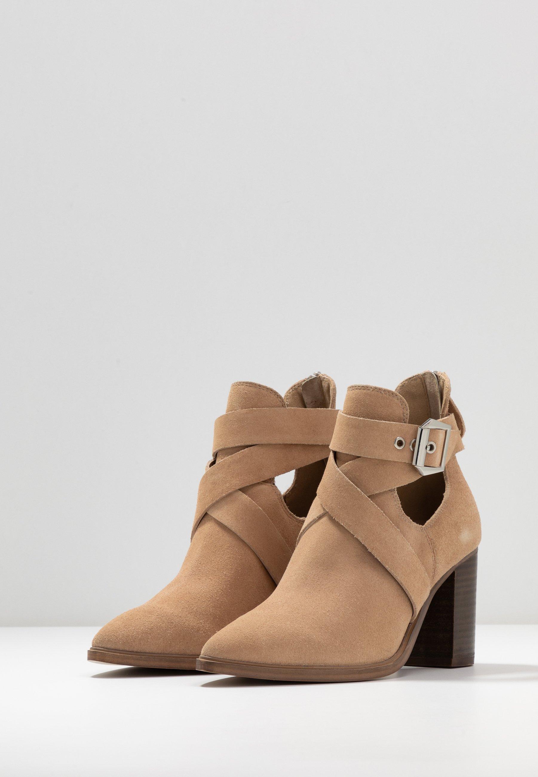 Steve Madden JOLL - Boots à talons - nude - Bottines Femme Original