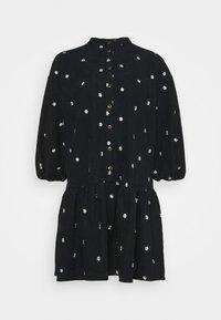 YAS - YASCALIA MIDI DRESS - Day dress - black - 0