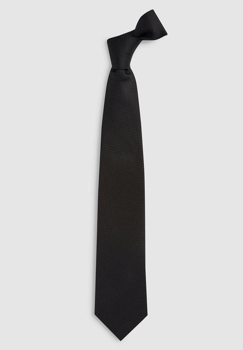 Next - SIGNATURE  - Cravatta - black