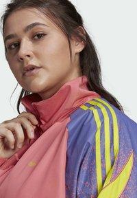 adidas Originals - FAKTEN ORIGINALS JACKE – GROSSE GRÖSSEN - Training jacket - pink - 4