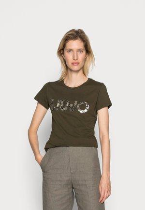 MODA  - T-shirt con stampa - nero