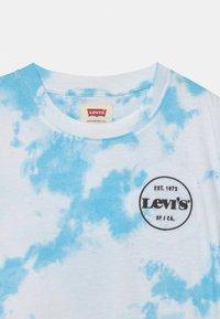 Levi's® - LOGO PRINTED  - Triko spotiskem - blue topaz - 2
