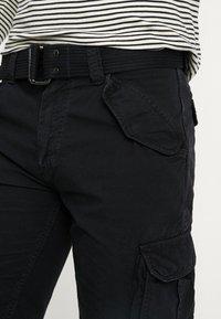 Schott - BATTLE - Shorts - black - 3