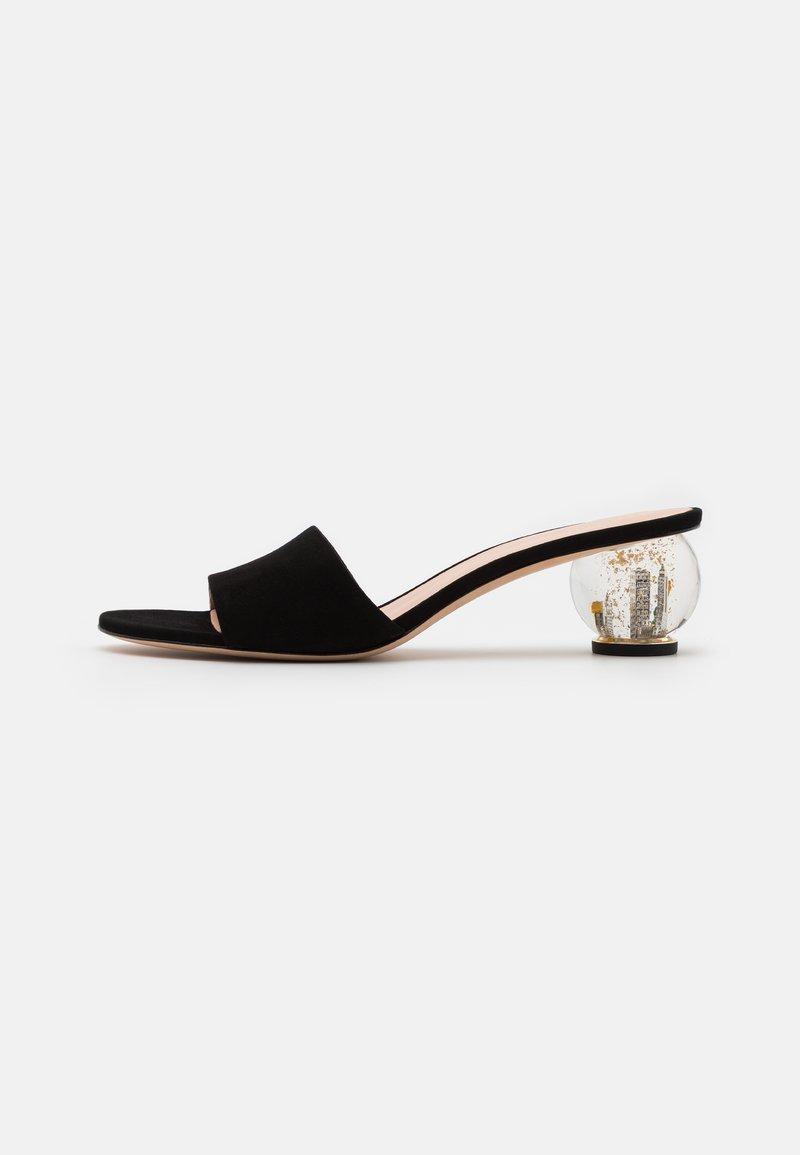 kate spade new york - POLISHED - Pantofle na podpatku - black