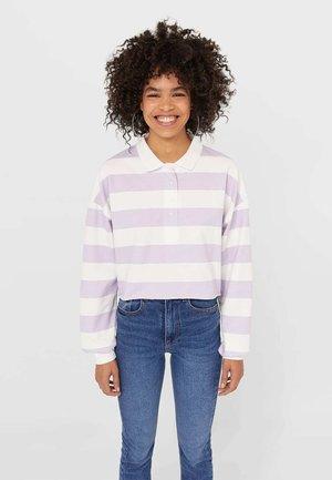 Polo shirt - mauve