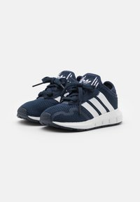 adidas Originals - SWIFT RUN UNISEX - Trainers - collegiate navy/footwear white/core black - 1