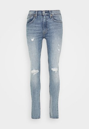 519™ SKINNY BALL - Skinny džíny - light-blue denim