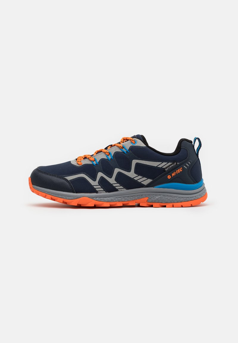 Hi-Tec - STINGER WP - Chaussures de marche - navy/royal/orange/light grey