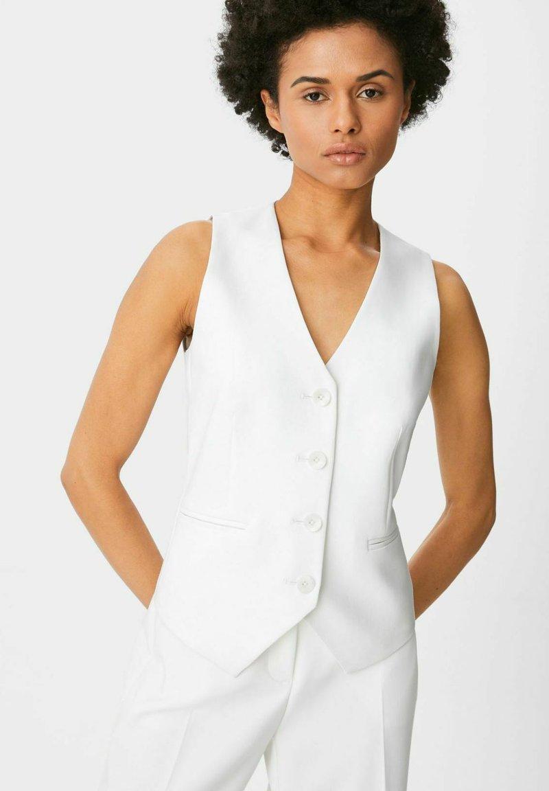 C&A - Waistcoat - white