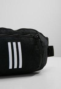 adidas Performance - PARKHOOD  - Gürteltasche - black/black/white - 7