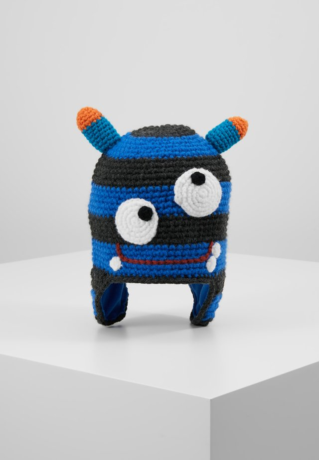 MONSTER BEANIE - Bonnet - blue