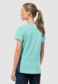 Jack Wolfskin - Print T-shirt - powder blue - 1