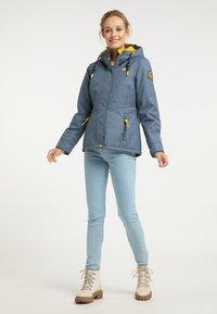 Schmuddelwedda - Winter jacket - marine melange - 0