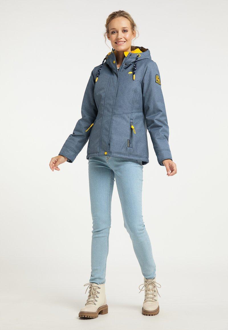 Schmuddelwedda - Winter jacket - marine melange