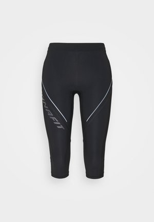 ALPINE - 3/4 sports trousers - black out