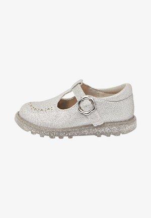 Baby shoes - metallic grey