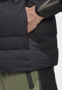 adidas Performance - URBAN COLD RDY OUTDOOR VEST - Waistcoat - schwarz - 5