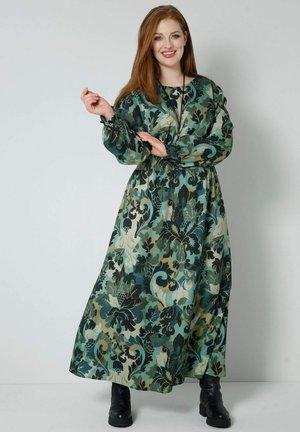 Maxi dress - khaki,salbeigrün