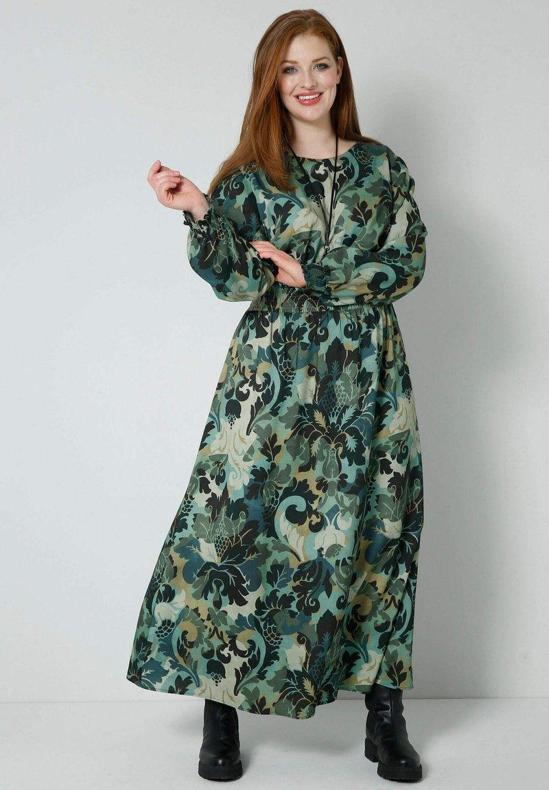 Sara Lindholm - Maxi dress - khaki,salbeigrün