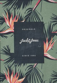 Jack & Jones - JORFLORALL - Triko spotiskem - navy blazer - 2