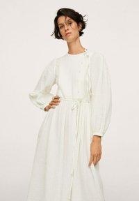 Mango - Shirt dress - ecru - 2